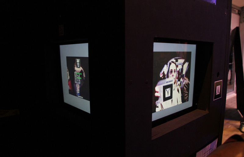 SjansMachine - Photo booth & Augmented Reality screen