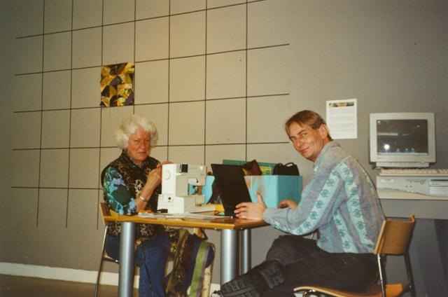 Virtual Quilt (2002) - Clara Wainwright & Rolf van Gelder @ the Decordova Museum