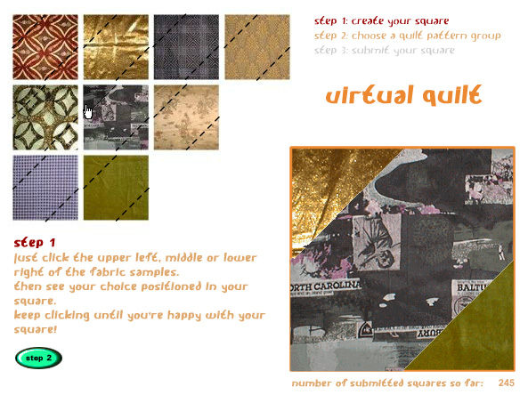 Virtual Quilt (2002)